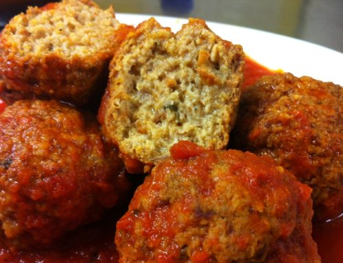 Grace's Favourite Meatballs